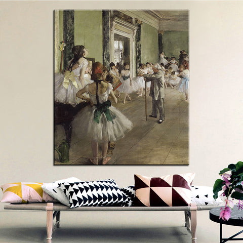 DP ARTISAN The Ballet Class Wall painting print on canvas for home decor oil painting arts No framed wall pictures
