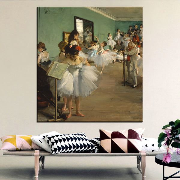 DP ARTISAN The Dance Class Wall painting print on canvas for home decor oil painting arts No framed wall pictures