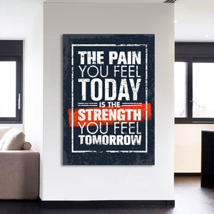 HD Printed 1 piece inspirational quotes canvas painting wall art print posters motivational painting Free shipping CU-1885A
