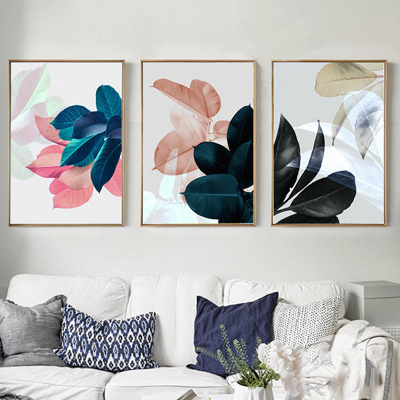 Nordic art paintings wall pictures for living room posters - Living room wall decor pictures ...