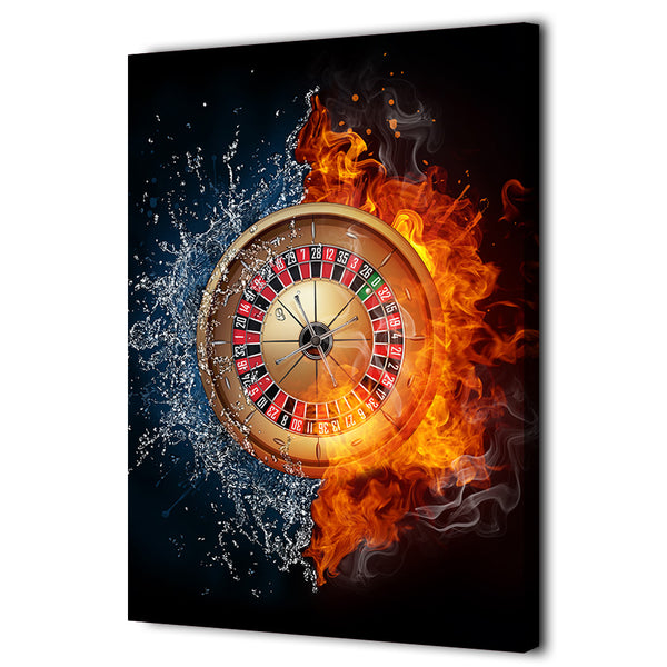 1 Piece Canvas Art Shutterstock Fantasy Roulette Poster HD Printed Wall Art Home Decor Canvas Painting Picture Prints NY-6606C