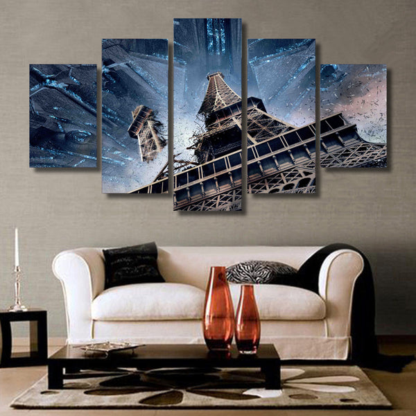 HD Printed resurgence eiffel paris Painting Canvas Print room decor print poster picture canvas Free shipping/ny-4914
