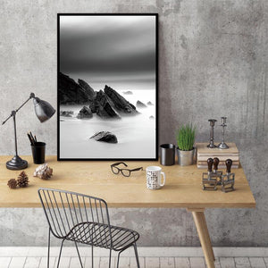 Nordic Abstract Mountain Natural Cloudy Wall Pictures Art Decoration Pictures Scandinavian Canvas Painting Prints No Frame