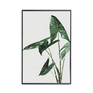 Watercolor Green Plants Leaves Canvas Paintings Nordic Scandinavian Office Wall Art Poster Picture for Living Room Home Decor