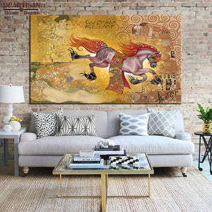 DPARTISAN Huge Gustav KLIMT giclee print CANVAS WALL ART decor poster oil painting print on canvas wall picture For living room