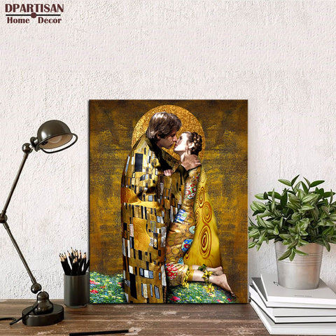 DPARTISAN Gustav KLIMT giclee print CANVAS WALL ART decor poster oil painting print on canvas painting no frame wall pictures