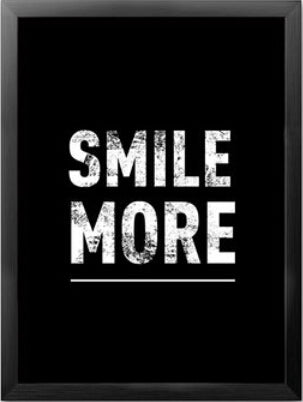 2pcs lot smile more worry less inspiration canvas painting poster