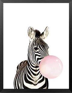 Modern Animals Art Prints Poster Balloon Animals Picture For Kids Room Elleseal
