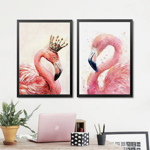 Modern Animals Canvas Art Print Painting Poster, Canvas Wall Picture For Home Decoration, Children's Room Wall Decor WT0033