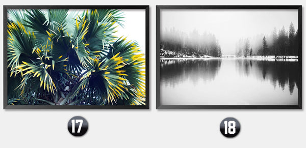 Wall Art Poster Decor Painting Cuadros Decoracion Canvas Art Print Poster, Scenery Wall PicturesFor Living Room FG0104
