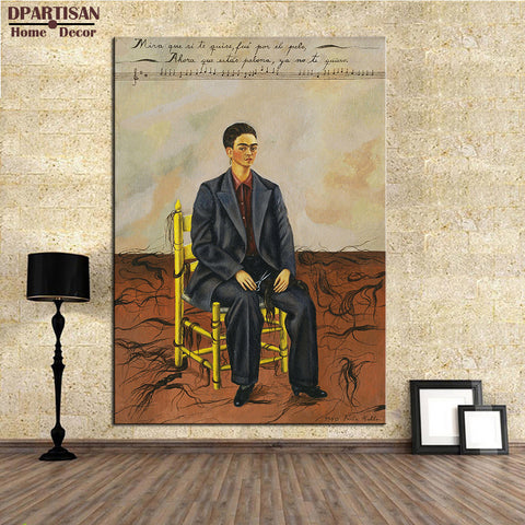 DPARTISAN Naive Art Original Self Portrait with Cropped Hair, 1940 GICLEE  poster print on canvas wall painting no frame arts