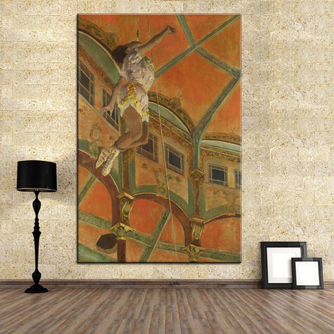 DP ARTISAN the Cirque Fernando 1879 Wall painting print on canvas for home decor oil painting arts No framed wall pictures