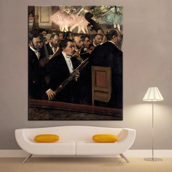 DP ARTISAN The Orchestra at the Opera Wall painting print on canvas for home decor oil painting arts No framed wall pictures