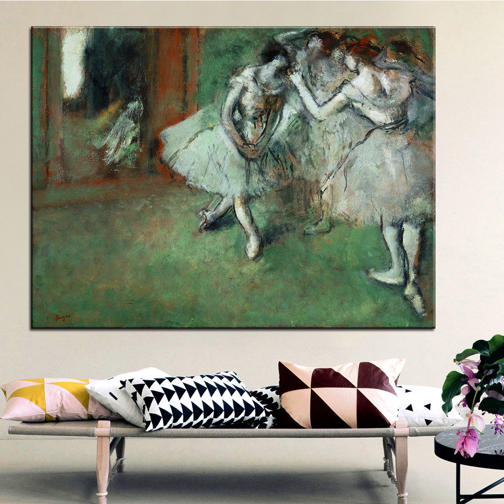 DP ARTISAN A Group of Dancers Wall painting print on canvas for home decor oil painting arts No framed wall pictures