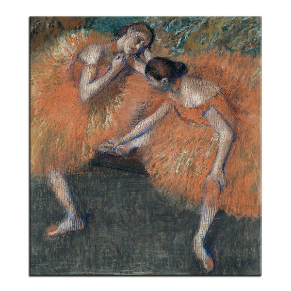 DP ARTISAN Two Dancers Wall painting print on canvas for home decor oil painting arts No framed wall pictures
