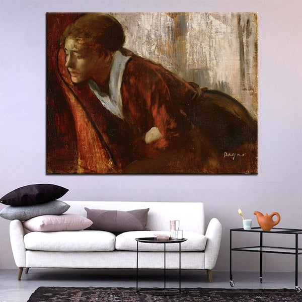 DP ARTISAN Melancholy Wall painting print on canvas for home decor oil painting arts No framed wall pictures