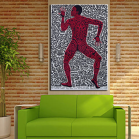 Street Art  Original Pop ART -22 GICLEE  poster print on canvas