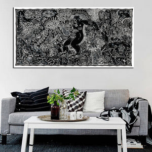 DPARTISAN Street Art Original Pop ART GICLEE poster print on canvas wall painting no frame wall pictures home decoration art