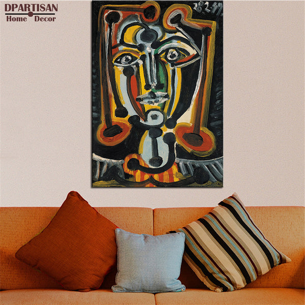 DPARTISAN Cubism Art Estate Signed Numbered DORA MAAR P15 Giclee wall Art Abstract Canvas Prints No frame wall painting