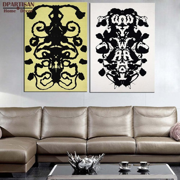 DPARTISAN  Study Rorschach pop art print Wall Painting picture Home abstract Decorative Art Picture no frame wall arts