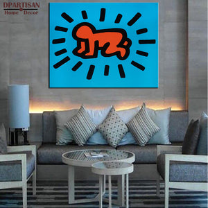 DPARTISAN Street Art  Original Pop ART -12 GICLEE  poster print on canvas wall painting for home decoration wall pictures arts