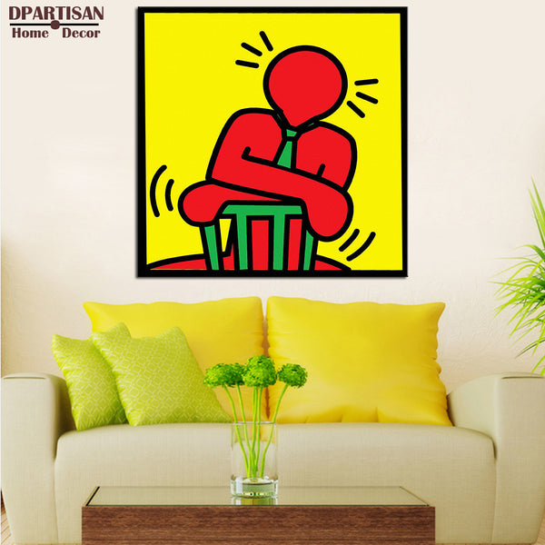 DPARTISAN Unknow-2 Giclee poster pop art print By street art  picture print on canvas wall painting home decoration no frame
