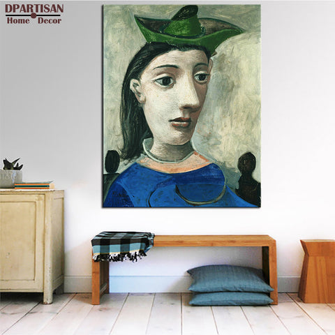 DPARTISAN Cubism Art  Estate Signed  Numbered children names P4 Giclee wall Art Abstract Canvas Prints No frame wall painting