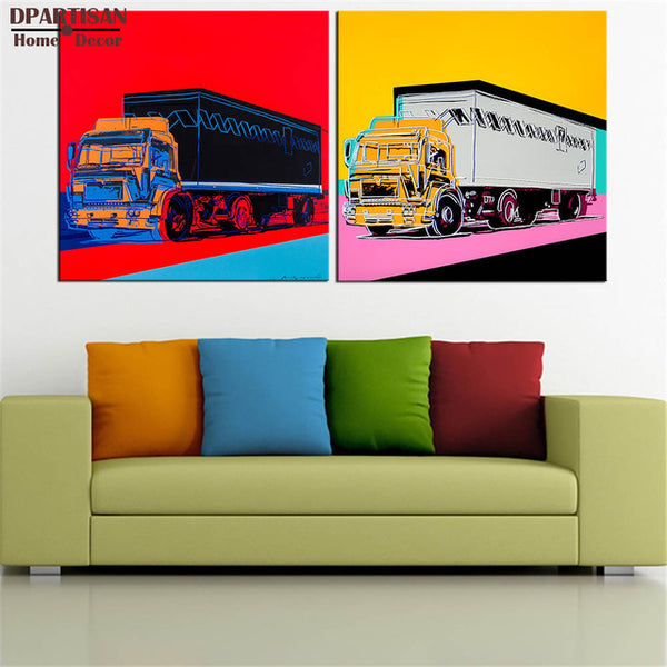 DPARTISAN study self quotes oil painting POP Art Print on canvas for wall decoration poster wall painting no frame arts