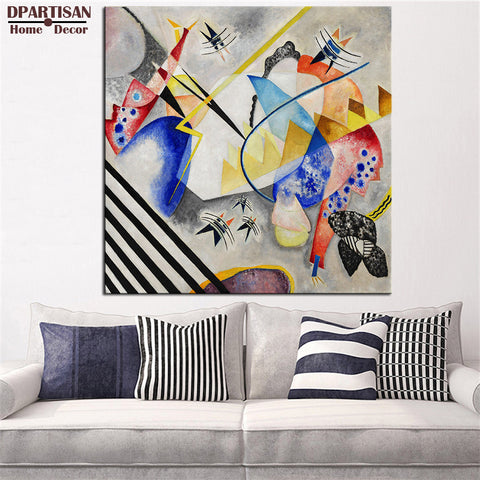 DPARTISAN Impressionism Art Small Worlds  wall pictures Giclee wall Art Abstract Canvas Prints No frame wall painting posters