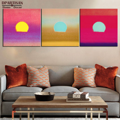 DPARTISAN study self picture oil painting POP Art Print on canvas for wall decoration poster wall painting no frame arts