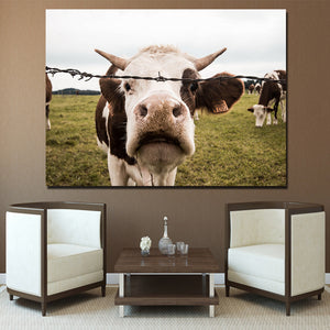 HD Printed 1 Piece Pig Cubs on Farm Canvas Painting Wall Pictures For Kids Room Posters and Prints Free Shipping NY-7285D