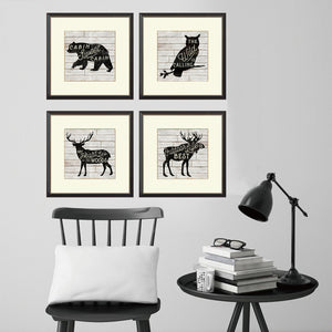 Wild Animals Nordic Canvas Painting Deer Posters and Prints Wall Art Pictures for Living Room Home Decor Unframed Drop Shipping