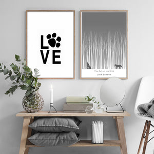 Nordic Animals Canvas Painting Scandinavian Posters Prints Wall Art Pictures for Living Room Home Decor Unframed Drop Shipping