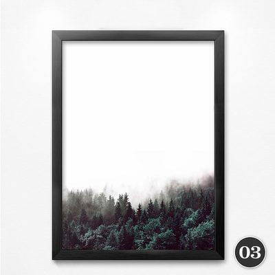 Forest Scenery Wall Art Canvas Painting Wall Pictures For Living Room Posters And Prints Wall Decor YT0043