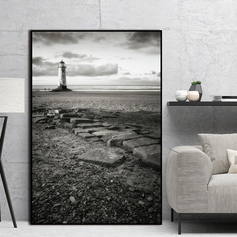 Sea Natural decor Stone Hope Nordic Abstract Wall Pictures Art Decoration Pictures Scandinavian Canvas Painting Prints No Frame