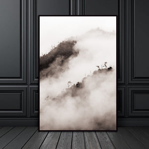 Nordic Mountain Natural Abstract Wall Pictures Living Room Art Decoration Pictures Scandinavian Canvas Painting Prints No Frame
