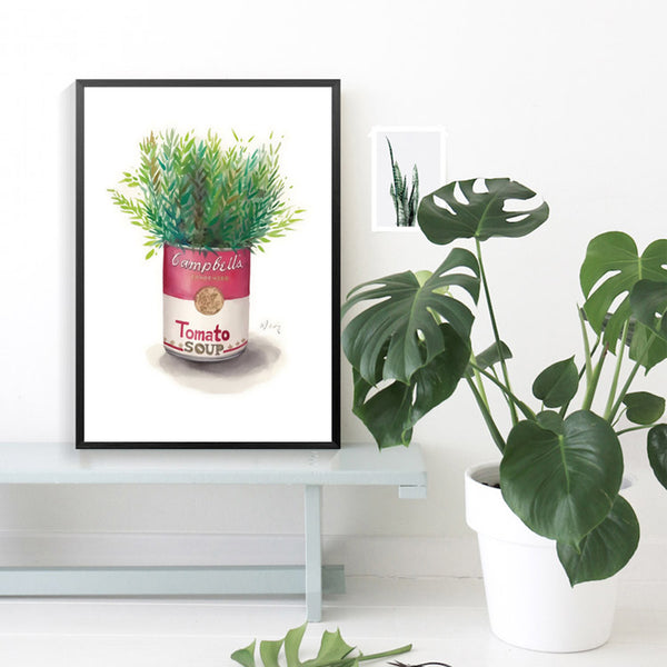 Small potted plants Picture Nordic Wall Pictures For Living Room Posters Wall Art Canvas Painting Posters And Prints Unframed