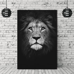 Home decor Wall art animal canvas painting  Wall Pictures print  for Living Room