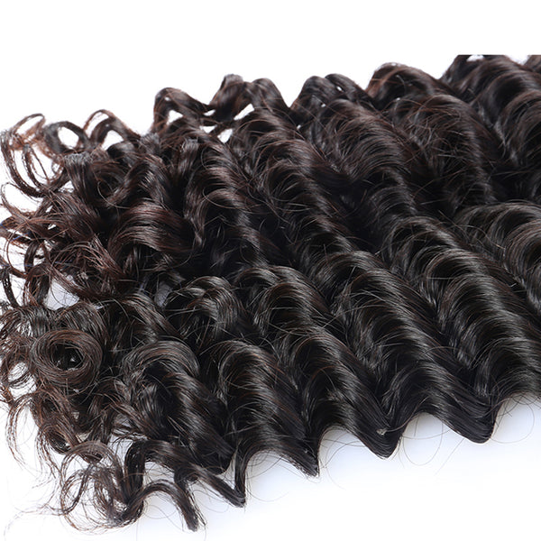 Deep Wave Brazilian Hair Weave Bundles Prosa Hair Products 1Pcs Virgin Hair Extension Natural Human Hair Weaving
