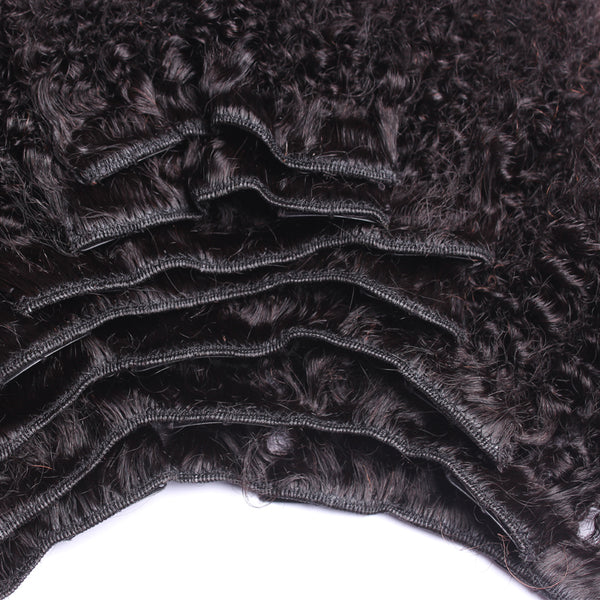 Afro Kinky Curly Hair Clip In Human Hair Extensions 4B 4C 100% Human Natural Hair Clip Ins Brazilian Remy Hair SunnyQueen