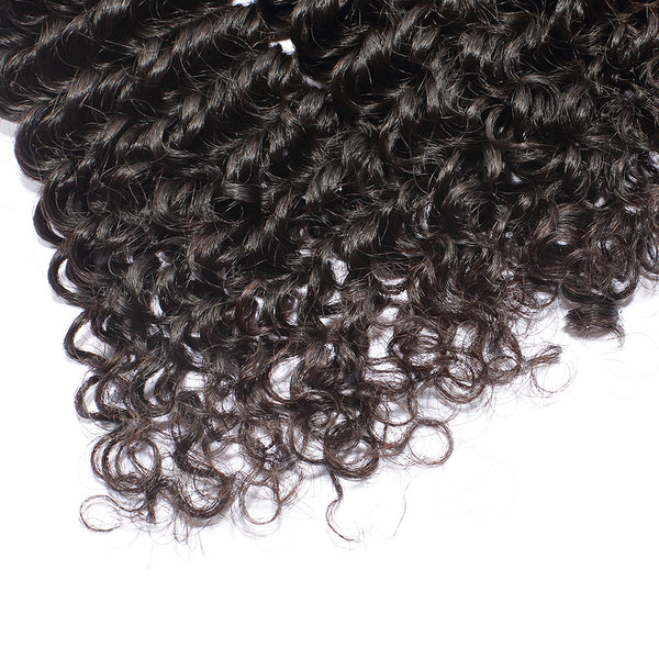 Luvin Malaysian Virgin Curly Weave Human Hair Bundles 3 Pcs/Lots 100% Unprocessed Raw Human Hair Extension Deep Wave No Shedding