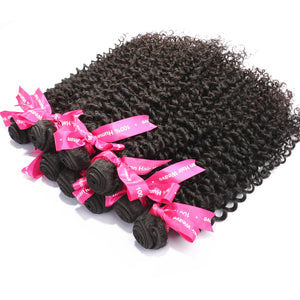 Luvin Hair Products Brazilian Curly  Hair Weft  10 Bundles 100% Unprocessed  Human Virgin Hair Free Shipping