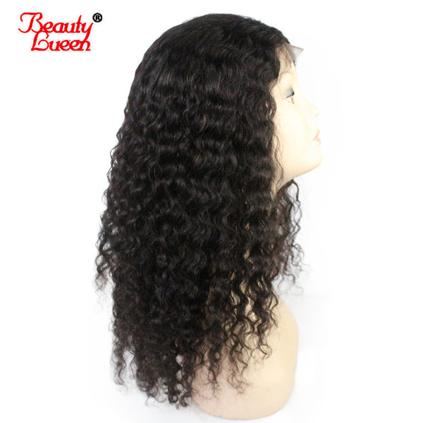 Pre Plucked Lace Front Human Hair Wigs Curly Malaysia Remy Hair 150% Density Lace Front Wig With Baby Hair For Women BeautyLueen