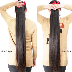 Luvin 30inch-36inch Brazilian Virgin Long Hair Bundles Straight Natrual Color Human Hair Weave 1PC Hair Extensions Free Shipping