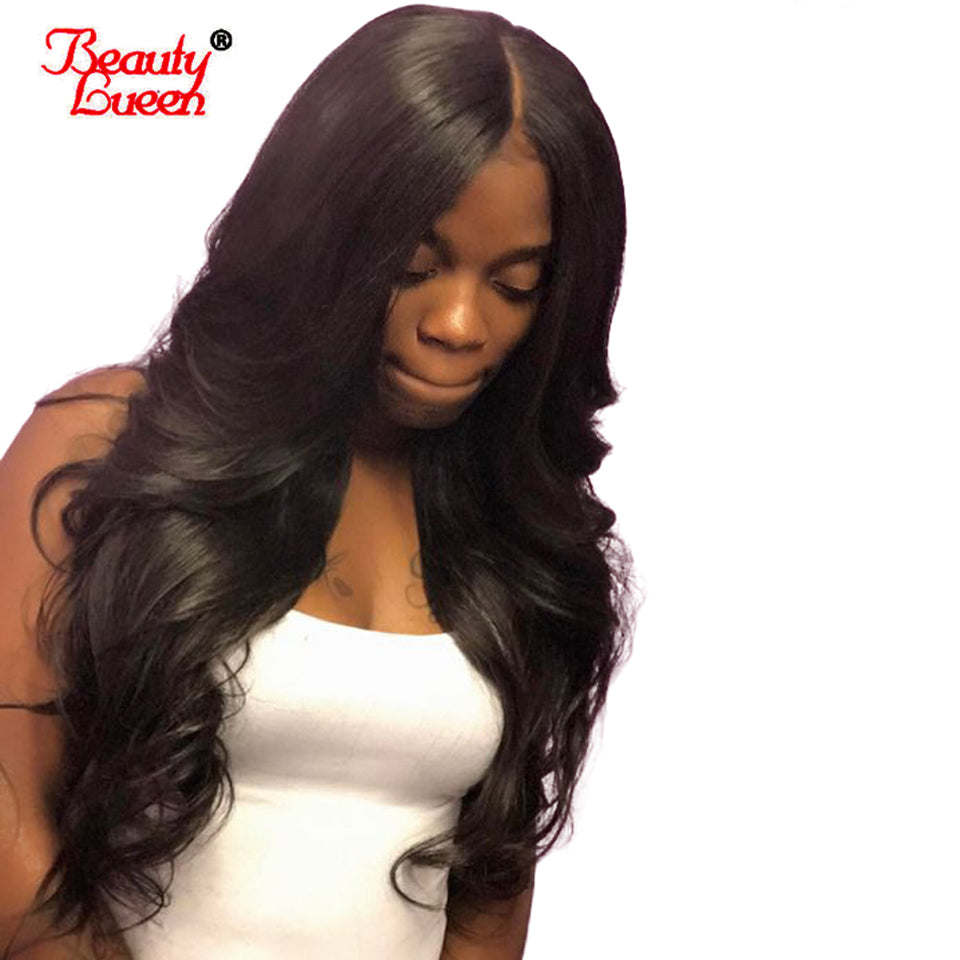 150% Density 360 Lace Frontal Wigs Pre Plucked With Baby Hair Malaysian Body Wave Remy Lace Front Human Hair Wigs For Women