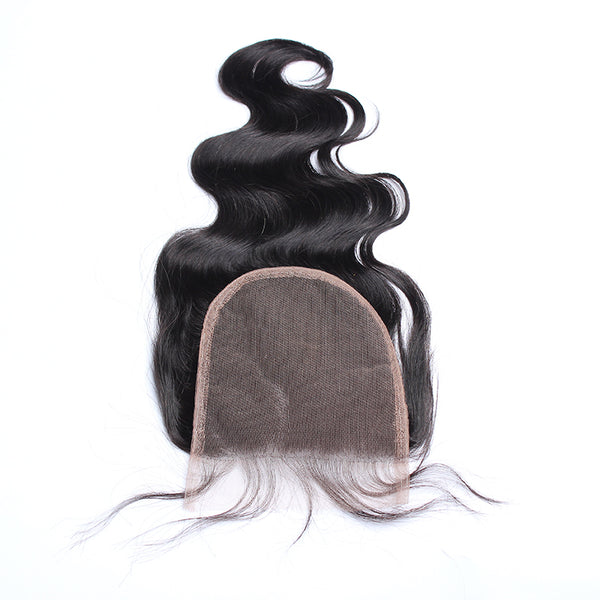 Brazilian Virgin Hair With Closure 4Pcs/Lot Body Wave Human Hair Bundles With Lace Closure 5x5 Prosa Hair Products
