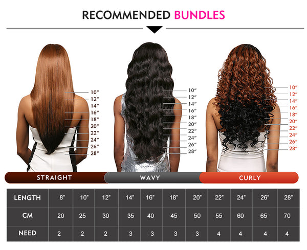 Luvin Brazilian Human Hair 3 Bundles With Lace Frontal Closure Loose Wave Free Part 100% Remy Hair Extensions