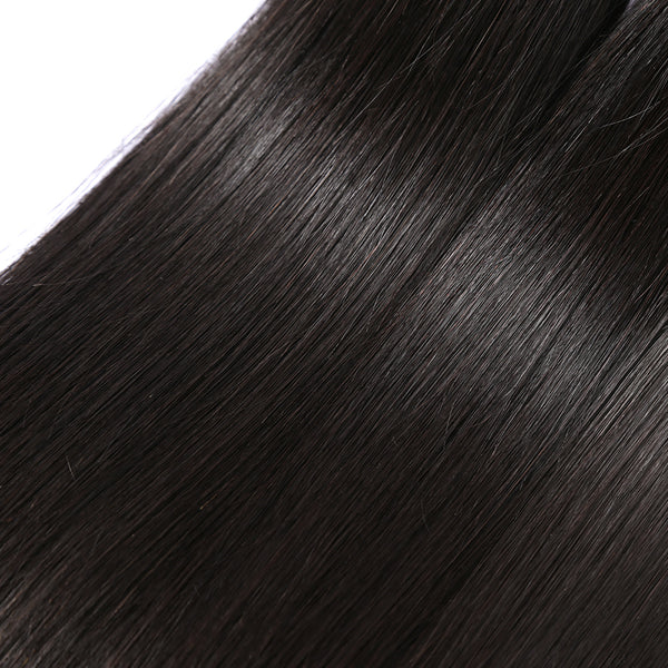 Malaysian Virgin Hair Straight 3 Bundles Lots 100% Human Hair Weave Bundles Natural Color Hair Extension Soft Hair