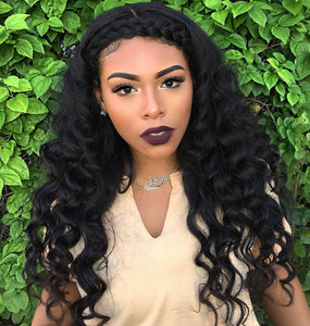 Luvin Peruvian Virgin Hair Loose Wave 3Pcs/Lots 100% Unprocessed Human Hair Bundles Weaves Soft Hair No Shedding No Tangle