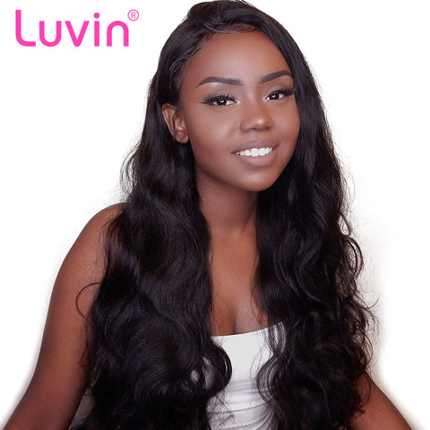 360 Lace Frontal Wigs For Women Black Pre Plucked With Baby Hair Peruvian Wavy Human Hair 26 inch Long Lace Front Wig